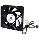 Вентилятор 70мм Cooling Baby 7015 PWM (70x70x15мм, HB 12В 0,15А 24,3дБ, 600 - 3000 об/мин 4-pin PWM)