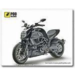 mouse pad (коврик) Podmyshku Ducati Diavel размер (190х240 мм)