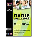 Фотобумага NewTone глянцевая, 200г/м2, А4, 100л (G200.100N)