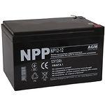Аккумулятор к UPS 12В 12Ач NPP NP12-12