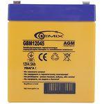 Аккумулятор к UPS 12В 4,5Ач Gemix GBM12045