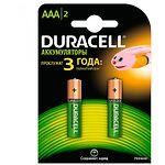 Аккумулятор DURACELL AAA/HR03 NiMh 750 mAh (5005009) (2шт/blister)