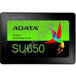 "SSD жесткий диск A-Data ULTIMATE SU650 480Gb 2.5"" SATA III (ASU650SS-480GT-R) 520/450 Mb/s - фото"