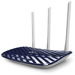 TP-Link Archer C20 V4 WiFi Router, IEEE 802.11n/ac, AC750 2.4GHz+5GHz,733Мбит/c, 3 антенны