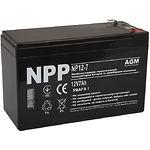 Аккумулятор к UPS 12В 7Ач NPP NP12-7