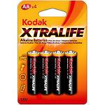 Батарейка KODAK (Тип AAA) (30951990) XTRALIFE LR03 (4шт/blister)