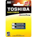 Батарейка TOSHIBA LR03 HP Alkaline AAA (00152647) 1.5V (2шт/blister)