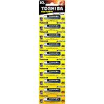 Батарейка TOSHIBA LR03 GCP HP Alkaline AAA (00152669) 1.5V (10шт/blister)