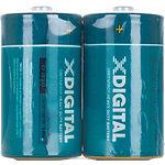 Батарейка X-Digital DR20 SP2 Longlife R20 Type D (2шт/shrink)