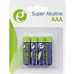 Батарейка EnerGenie EG-BA-AAA4-01 Super Alkaline LR03/AAA (4шт/blister)