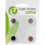 Батарейка EnerGenie EG-BA-LR1130-01 Alkaline LR1130 (4шт/blister) поштучно