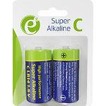 Батарейка EnerGenie EG-BA-LR14-01 Alkaline R14/Тип C (2шт/blister)