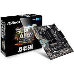 Фото ASRock J3455M, On board Intel J3455 4core