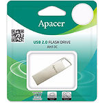 USB Flash 16Gb Apacer AH13C Silver AP16GAH13CS-1