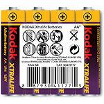 Батарейка KODAK (Тип AA) (30411777/В) XTRALIFE LR06 (4шт/pack)