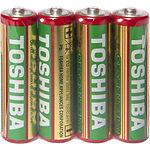 Батарейка TOSHIBA R6 Heavy Duty AA (00155661) 1.5V (4шт/shrink)