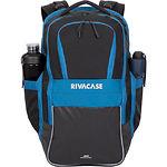 """Рюкзак для Notebook RivaCase 5265 (Black/blue) с диагональю дисплея 17.3"""""""
