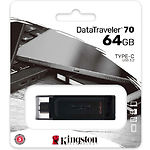 USB Flash 64GB KINGSTON DataTraveler 70 USB3.2 Type-C DT70/64GB