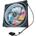 Вентилятор 120мм Cooling Baby 12025MC5 120x120x25 BB, 25дБ,12V,1200об/мин,3-pin+4-pin Molex