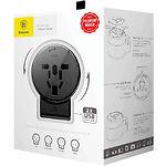 USB CHARGER Baseus ACCHZ-01 2*USB (Black) Сетевое ЗУ (2.4A) Универсальное для всех стран мира