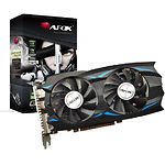 Видеокарта AFOX 4Gb DDR5 128Bit AF1050TI-4096D5H5 Dual Fan PCI-E - фото