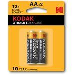 Батарейка KODAK (Тип AA) (30413382) XTRALIFE LR06 (2шт/блистер)