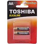 Батарейка TOSHIBA LR03 AAA ECONOMY ALKALINE (00159939) LR03GCA BP-2C (2шт/blister)