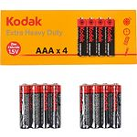Батарейка KODAK (Тип AAA) (30411715) EXTRA HEAVY DUTY R3 (4шт/shrink)
