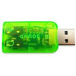 Sound Card Dynamode USB-SOUNDCARD2.0 green (C-Media 6(5.1) каналов)