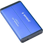 "HDD Rack Gembird EE2-U3S-2-B Внешний карман 2.5"", USB3.0, синий"