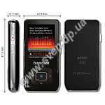 фото MP3 player + FM-tuner + USB Flash 8Gb (TRANSCEND T.Sonic 850 black, LCD Display)