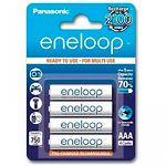 Аккумулятор Panasonic Eneloop BK-4MCCE/4BE, AAA/(HR03), 750mAh, LSD Ni-MH, блистер 4шт