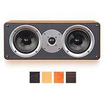 Acoustic Kingdom GIGA CS I (dark brown) АС центральная, 50W, 8 Ом, динамики карбоновые 2х5,25', 1x1'