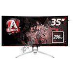 "Фото AOC 35"" AG352Qcx Gaming 200Hz Curved MVA WQHD DP Pivot USB"