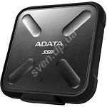SSD A-Data SD700 512GB External USB 3.1 Black (ASD700-512GU31-CBK) - фото