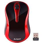 Мышка A4tech G3-280N (Black+Red) беспроводная V-Track USB, 1000dpi