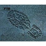 mouse pad (коврик) Podmyshku След размер (190х240 мм)