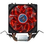 Cooler CPU COOLING BABY R90 RED LED (1366/775/1150/1151/1155/1156/FM1/FM2/AM4/AM2/AM2+/AM3 )