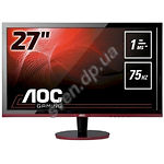"фото AOC 27"" G2778VQ 1920x1080,TN, VGA/HDMI/DP,170°/160°,1ms, 300cd/m2, Black"