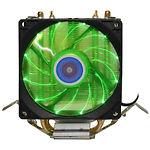 Cooler CPU COOLING BABY R90 GREEN LED (1366/775/1150/1151/1155/1156/FM1/FM2/AM4/AM2/AM2+/AM3 )