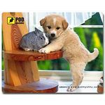 mouse pad (коврик) Podmyshku Щеночек размер (190х240 мм)