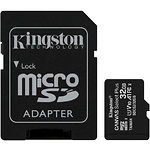 microSD HC 32Gb KINGSTON Canvas Select Plus UHS-I A1 Class10 (c переходником SDCS2/32GB) R-100MB/s
