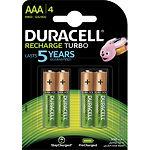 Аккумулятор DURACELL AAA/HR03 NiMh 900 mAh Turbo (5005015 ) (4шт/blister)