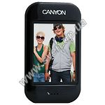 "MP3 player + FM-tuner + USB Flash 8Gb (CANYON-MPV4СI, 2,4"" TFT Display, Black) - фото"