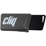 USB Flash 64Gb PATRIOT ST-Lifestyle Cliq USB 3.1 Grey (PSF64GCL3USB)