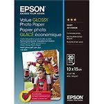 Фотобумага EPSON глянцевая, 183 г/м2, 100х150 мм, 20л (C13S400037)