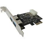 Контроллер Dynamode USB30-PCIE-2 (PCI-Ex - USB 3.0, 2 канала, NEC µPD720200)