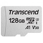 microSD XC 128 GB Transcend 300S U3 Сlass 10 (без переходника, TS128GUSD300S)