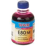 чернила WWM для Epson L1800/L800/L810/L850, 200г, Magenta, Водорастворимые (E80/M)