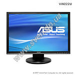 "фото ASUS 22"" TFT VW222U (black) 2ms,1680x1050,Wide 16:10, 170/160,700:1,300кд/м,DVI"